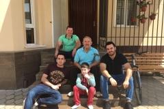 Карашев Владимир Хазритович со своим сыном и внуками.