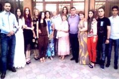 70 летний юбилей отмечает Карашева Нина Башировна  с семьей и родственниками.