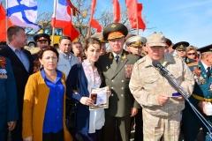 2017 г. Республика Крым, место где будет установлен новый памятник мемориал, погибшим участниками ВОВ.
