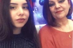 Хачимахова Татьяна с дочерью.