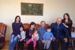 Карашева (Карежева) Наташа Хажпаговна с семьей.