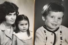 Карашева Тамара Хамитовна, дети Елена и Владислав Хортовы