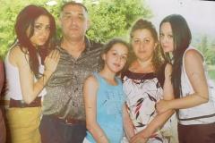 Адаева (Совкуева) Флора – дочь Зои Сафарбиевны со своей семьей.
