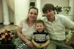 Карашева (Кумыкова) Людмила Владировна с супругом.