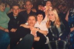 Карашев Сафарбий Хазешевич с семьей.