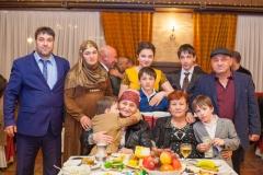Родственники на свадьбе Умара Азмиевича Йылдырым. 2016 г.