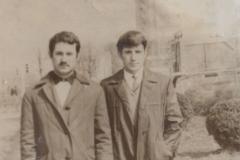 1965 год, братья Карашевы: Вова и Миша.