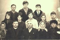 Карашев Хазрит Муридович с родственниками.