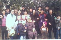 Карашева (Дацирхоева) Налифка Альбековна с родственниками.