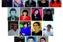 Дети и внуки Харадурова (Карашева) Хасана Касбулатовича.