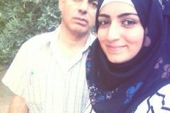 Ават Хазем с дочерью  Салмой.