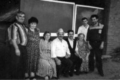 1997 г., с. Сурх-Дигора. Родственники встречают  Азми Йылдырым из Турции.