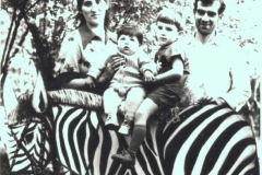 Керашев Мухамед Дзушкович с семьей.