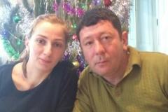 Карашева (Хамгокова) Рита Анатольевна с супругом.